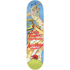Anti-Hero Pfanner Condo Beyondo Skateboard Deck - Blue - 8.25in x 32.0in