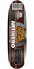 Anti-Hero Cardiel Smokeless Skateboard Deck - Brown - 9.2in x 31.7in