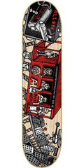 Anti-Hero Allen Mcnett Train Key Skateboard Deck - Natural - 8.62in x 32.56in