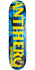Anti-Hero Cownhorn Skateboard Deck - Blue Camo - 7.81in x in