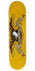 Anti-Hero Classic Eagle Mini Skateboard Deck - Yellow - 7.3in x 29in
