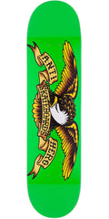 Anti-Hero Classic Eagle Medium Skateboard Deck - Green - 7.81in x 31.75in