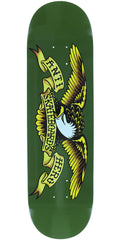 Anti-Hero Classic Eagle Skateboard Deck - Green - 8.38in x 32.25in