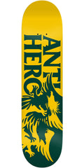 Anti-Hero Feeding Frenzy Skateboard Deck - Gold/Green - 7.75in x 31.8in