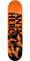 Anti-Hero Feeding Frenzy Skateboard Deck - Orange/Black - 8.06in x 31.8in