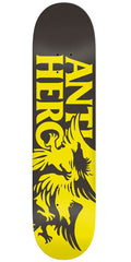 Anti-Hero Feeding Frenzy Skateboard Deck - Yellow/Black - 8.5in x 32.5in