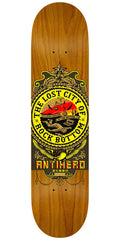 Anti-Hero Rosso State of Mind Skateboard Deck - Brown - 8.25in x 32in