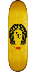 Anti-Hero Cardiel Oro Skateboard Deck - Gold - 9.2in x 32.75in