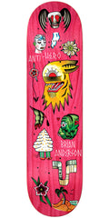 Anti-Hero Anderson A Grape Dope Skateboard Deck - Assorted - 8.5in x 32.18in