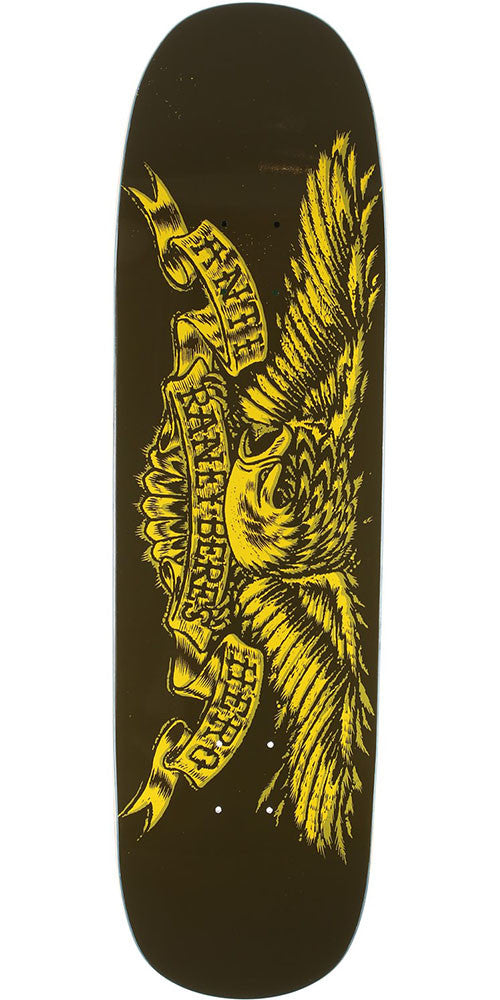 Anti-Hero Raney Beres Sprack Eagle Skateboard Deck - Brown - 8.63in x 32.04in