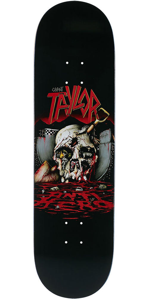 Anti-Hero Taylor Southbound Skateboard Deck - Black - 8.85in x 33in
