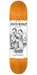 Anti-Hero Beres Science Achievement Skateboard Deck - Orange - 8.06in x 31.91in