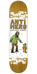 Anti-Hero Daan It's All Shit Skateboard Deck - Brown - 8.06in x 31.8in