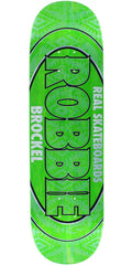 Real Brockel Oval Ltd Skateboard Deck - Assorted - 8.5in X 32.5in