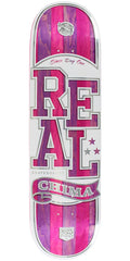 Real Chima Ferguson Spliced Low Pro II Skateboard Deck - Purple/Pink - 8.25in x 32.5in