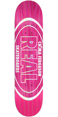 Real Chima Holographic Oval Skateboard Deck - Pink - 8.25in x 32.22in