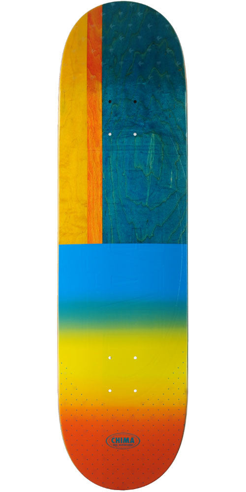 Real Chima Exclusive EMB Skateboard Deck - Multi - 8.5 x 32.25in