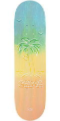 Real Chima Op Art Skateboard Deck - Multi - 8.12in x 31.38in