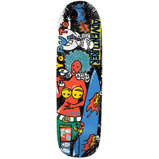 Foundation Adventurer Skateboard Deck 8.875 - Multi