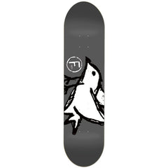 Foundation Big Bird PP Skateboard Deck - Grey - 8.0