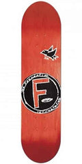 Foundation Bird PP Skateboard Deck - Red - 8.5
