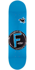 Foundation Bird PP Skateboard Deck - Blue - 8.0