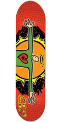 Foundation Servold Open Arms Skateboard Deck - Red - 8.0in