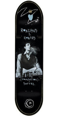 Foundation Duffel Rowland Howard Skateboard Deck - Black - 8.5in