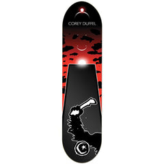 Foundation Duffel Space Odyssey Skateboard Deck - Black - 8.375in