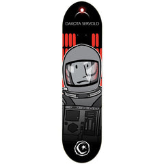 Foundation Servold Space Odyssey Skateboard Deck - Black - 8.125in