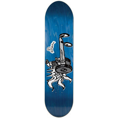 Foundation Race For Fun Skateboard Deck - Blue - 8.125in