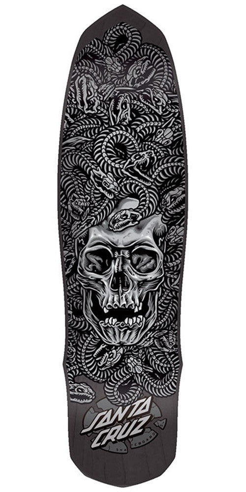 Santa Cruz Medusa Skateboard Deck - Black - 8.625in x 31.85in