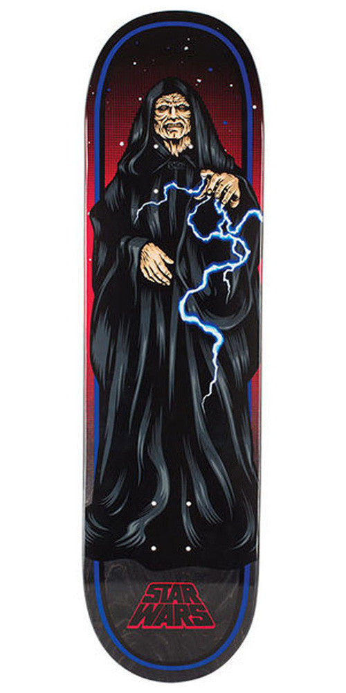 Santa Cruz Star Wars The Emperor Skateboard Deck - Black - 32.0in x 8.375in