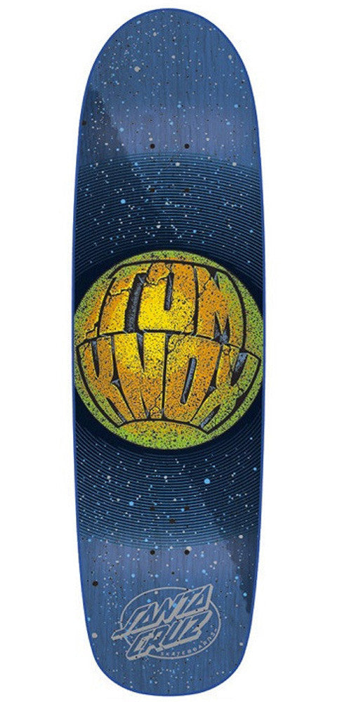 Santa Cruz Knox Planet Skateboard Deck - Navy/Black - 9.0in