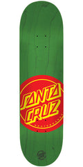 Santa Cruz Deuces Skateboard Deck - Green - 31.7in x 8.125in