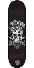 Santa Cruz Califas Skateboard Deck - Black - 31.7in x 7.8in