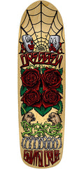 Santa Cruz Dressen Roses 2 Skateboard Deck - Natural - 31.9in x 8.75in