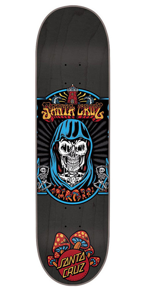 Santa Cruz Trippin Skateboard Deck - Black - 31.7in x 8.125in