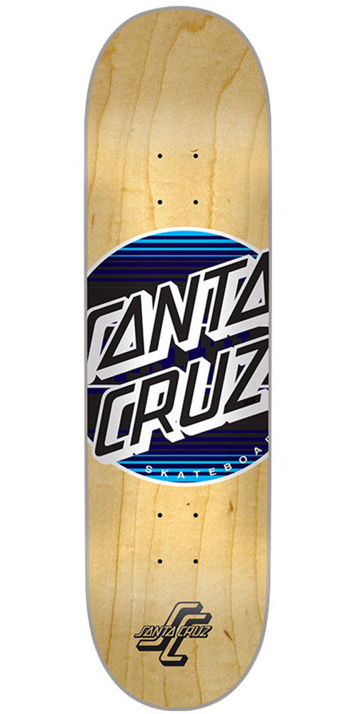 Santa Cruz Serape Dot Skateboard Deck - Natural - 31.8in x 8.25in