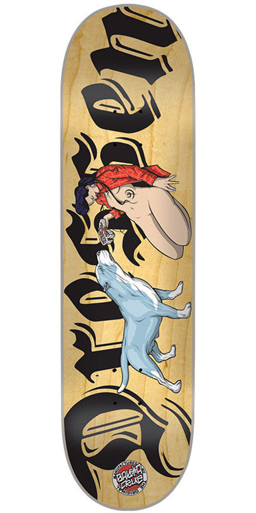 Santa Cruz Dressen Loyalty Skateboard Deck - Natural - 32.5in x 8.6in