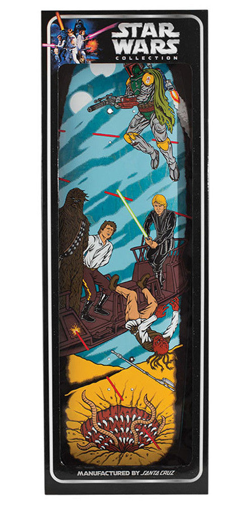 Santa Cruz Star Wars Sarlacc Pit Scene Collectible Skateboard Deck - Multi - 32.38in x 8.5in