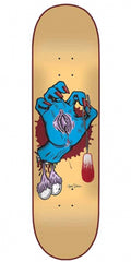 Santa Cruz Cliver Hand Team Skateboard Deck - Multi - 32.2in x 8.5in