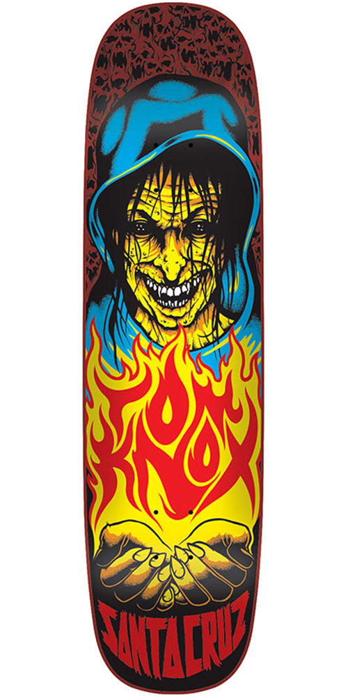 Santa Cruz Knox Witch Pro Skateboard Deck - Multi - 32.25in x 8.47in