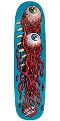 Santa Cruz Eye Pod Team Skateboard Deck - Blue - 31.85in x 8.5in