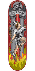Santa Cruz Borden Hermes Pro Skateboard Deck - Multi - 31.8in x 8.25in