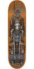 Santa Cruz Borden Cowboy Pro Skateboard Deck - Brown - 8.6in x 32.3in