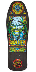 Santa Cruz Boyle Stained Glass Reissue Skateboard Deck - Black - 10.0in x 31.0in