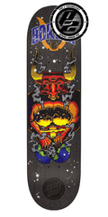 Santa Cruz Borden Zodiac Pro P2 Skateboard Deck - Black - 8.5in x 32.2in