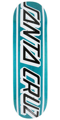 Santa Cruz Classic Strip Team Skateboard Deck - Blue - 9in x 33in