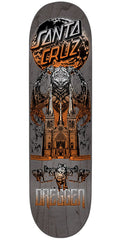 Santa Cruz Dressen Funeral French Pro Skateboard Deck - Grey - 8.6in x 32.3in